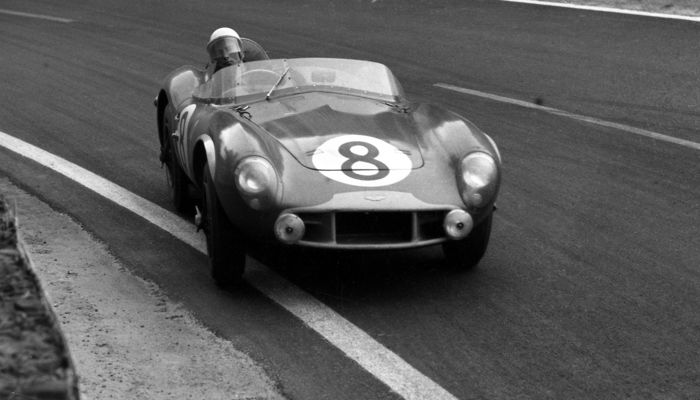 photograph - 1956 Le mans 24 Hour Stirling Moss Aston Martin DB3s - 2016-2016