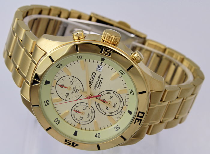 Seiko - 'NO RESERVE PRICE' New & Boxed  Chronograph  -  SKS404P1   - Heren - 2011-heden