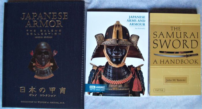 Boek (3) - Hardcover / Softcover - Samurai Armour & Swords  - Japan - Meiji periode (1868-1912)