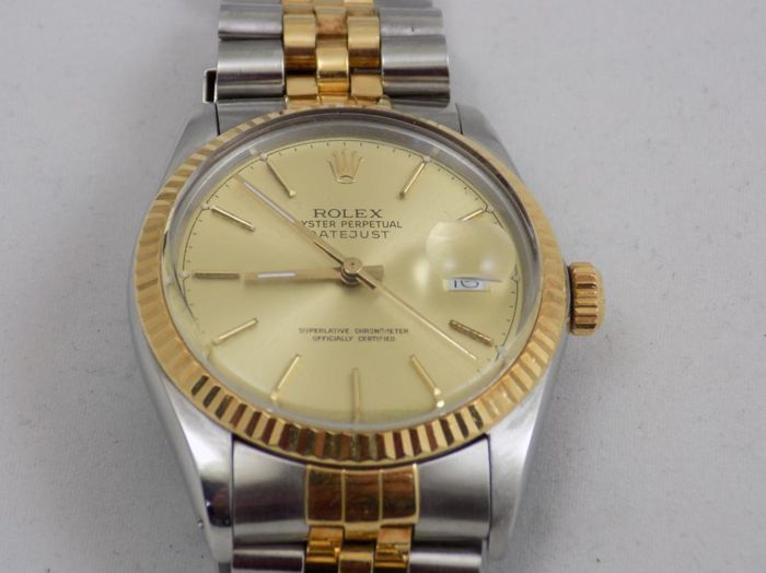 Rolex - Oyster Perpetual Datejust  - Ref. 16013 - Hombre - 1987