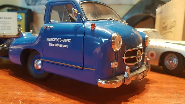 CMC - 1:18 - Renntransporter Mercedes-Benz 1954