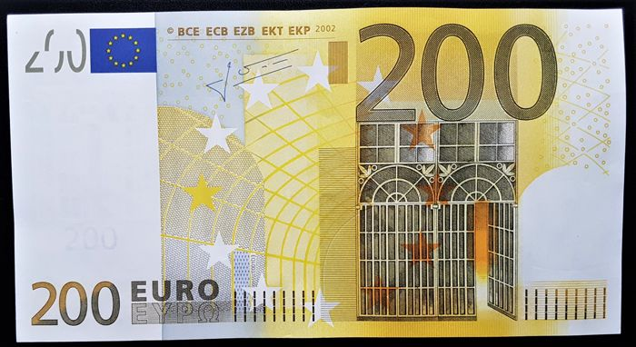 Europese Unie - Duitsland - 200 Euro 2002 - E001D3 - TRICHET - without HOLOGRAM