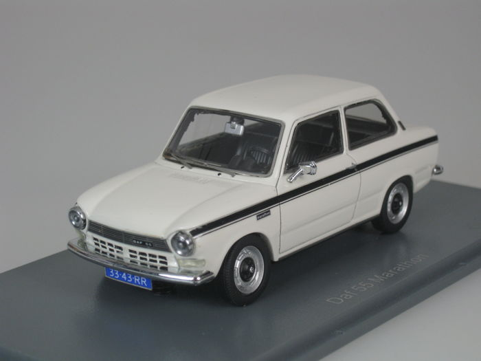 Neo Scale Models - 1:43 - DAF 55 Marathon Variomatic - 1971 - white