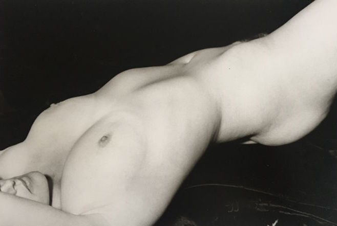 Marie-Claire Montanari - Untitled female nude