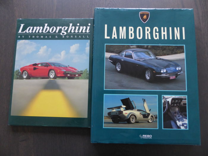 Boeken -  Lot; 2 Books on Lamborghini - 1988-1991 (2 items)