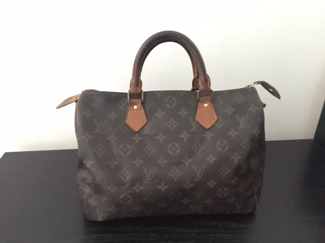 Louis Vuitton - Monogram Speedy 30 Handtas