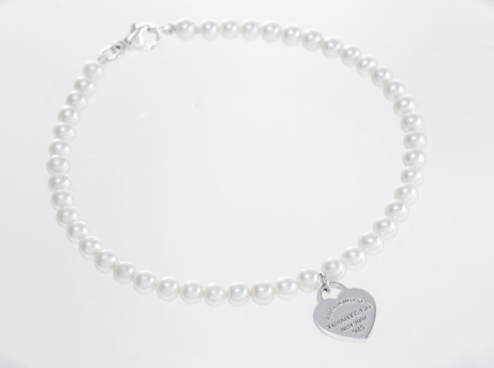 RETURN TO TIFFANY Pearl Bracelet Prata - Pulseira