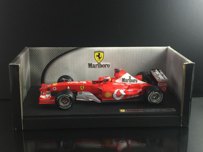 Hot Wheels - 1:18 - Ferrari F1 Michael Schumacher F2003-GA - Very nice model
