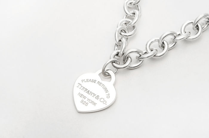 Return To Tiffany Heart Tag Necklace Silver Necklace Catawiki