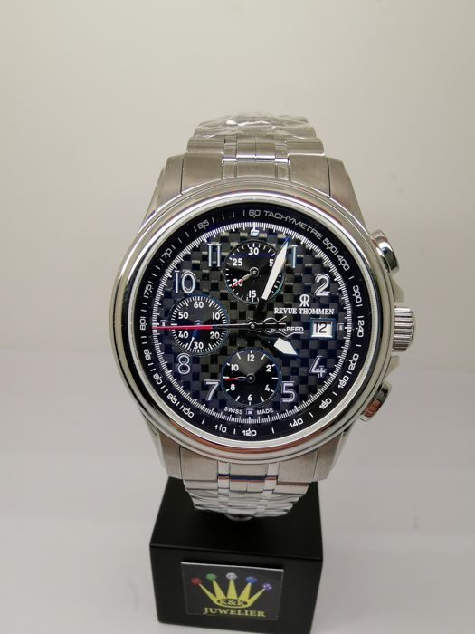 Revue Thommen - Air speed XLarge High Tech 16041.6137 Automatik Herren Chrono Uhr - 16041.6137 - Unisex - 2011-heden