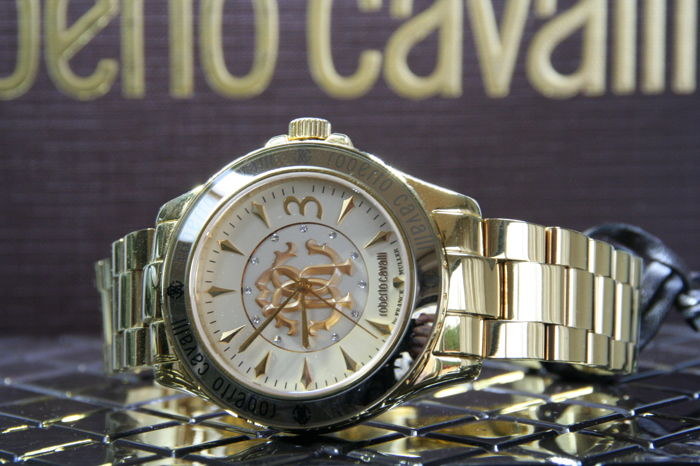 Franck Muller - Roberto Cavalli - New 18k gold plated - Hombre - 2011 - actualidad