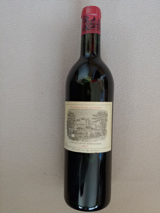 1967 Chateau Lafite Rothschild - Pauillac 1er Grand Cru Classé - 1 Bottle (0.75L)