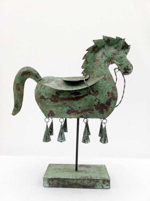 Decorative Dragon horse - metal - Bali, Indonesia