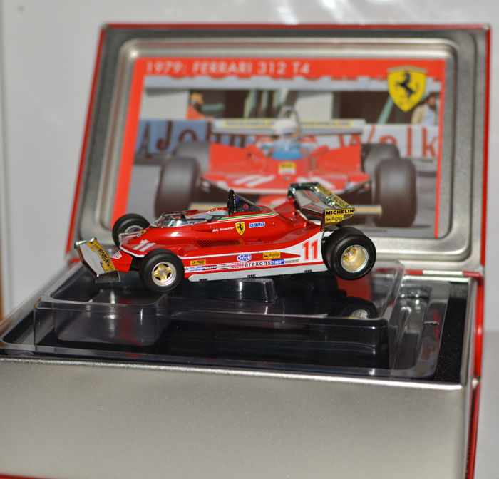 Hot Wheels - 1:43 - Ferrari 312 T4, Jody Scheckter winner Monaco GP 1979,  -  # SF16/79, special Monaco Backwing version
