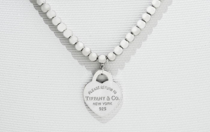 RETURN TO TIFFANY Bead Necklace Silver - Necklace