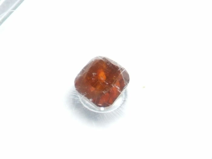 1 pcs Diamant - 0.19 ct - Cushion - fancy deep orange brown - P3