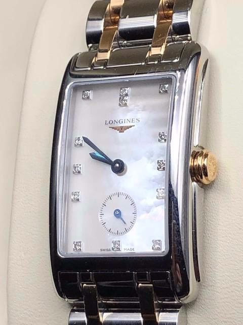 Longines - DolceVita/Diamonds/Mother Pearl Dial - L5.512.5 - Dames - 2000-2010
