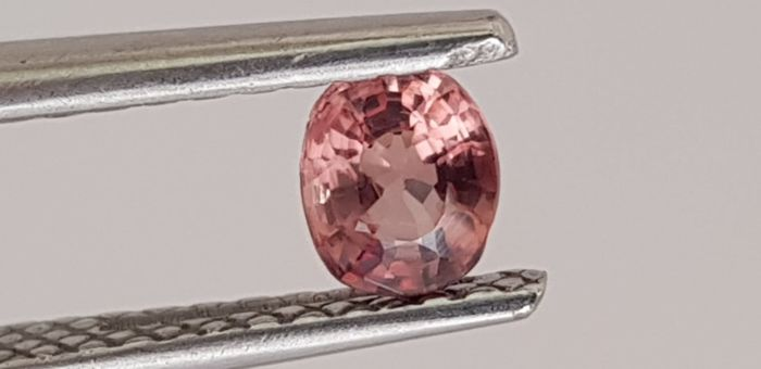 Without reserve price-sapphire-Orange-Pink - 0.50 ct