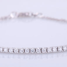 White gold - Bracelet - 0.75 ct Diamond