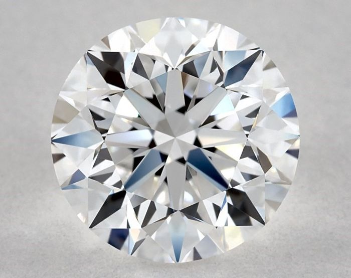 1 pcs Diamond - 1.50 ct - Round - D (colourless) - IF (flawless)