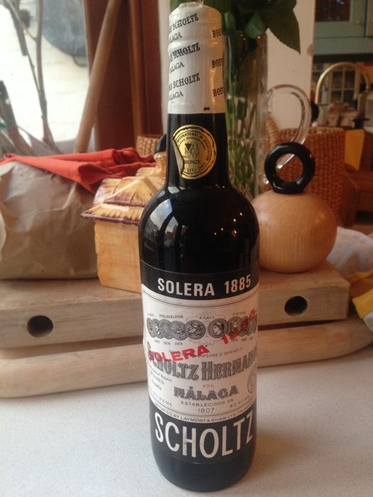 1885 Solera Malaga - Scholtz Hermanos - 1 Bottle (0.75L)
