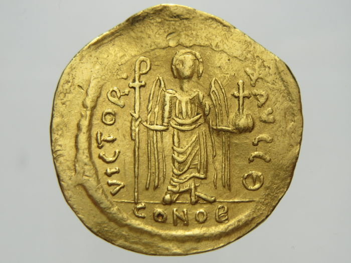 Coins & Paper Money 582-602 Ad Byzantine (300-1400 Ad) Maurice Tiberius Gold Solidus Coin Byzantine Constantinople Xf