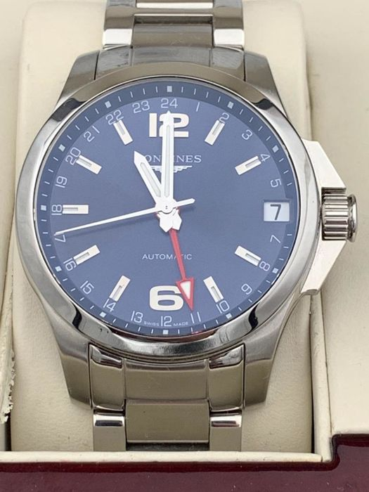 Longines - Conquest Automatic GMT  - H705450 - Heren - 2011-heden