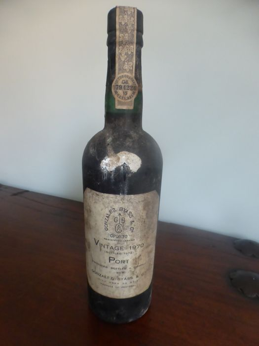1970 Gonzalez Byass Vintage Port - 1 Bottle (0.75L)