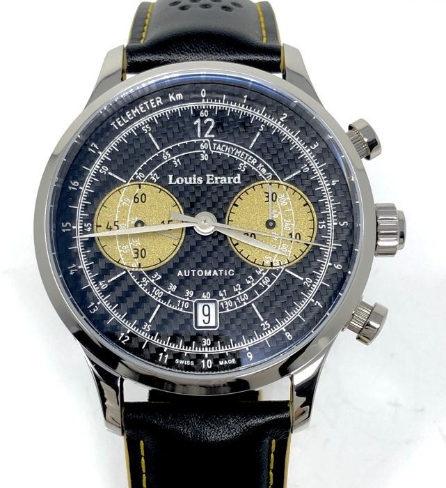 "Louis Erard - Automatic Chronograph Ultima Limited Edition ""NO RESERVE PRICE"" - 71245AA22 - Men - Brand new"