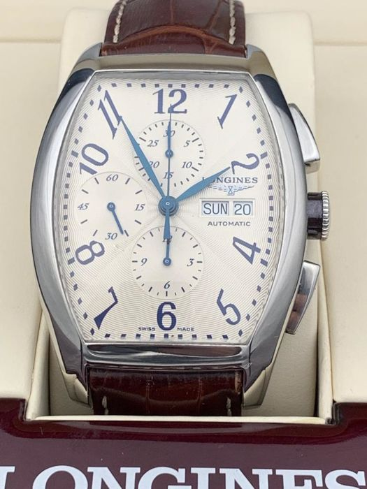 Longines - Evidenza Automatic Chronograph XL  - L2.701.4.78.9 - Heren - 2011-heden