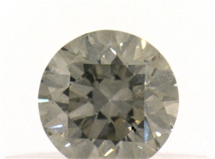 Diamant - 0.26 ct - Briljant - Grey - IGI Antwerp - No Reseve Price, SI2