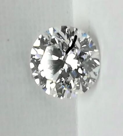 1 pcs Diamond - 1.01 ct - Kerek - D (színtelen) - VS2