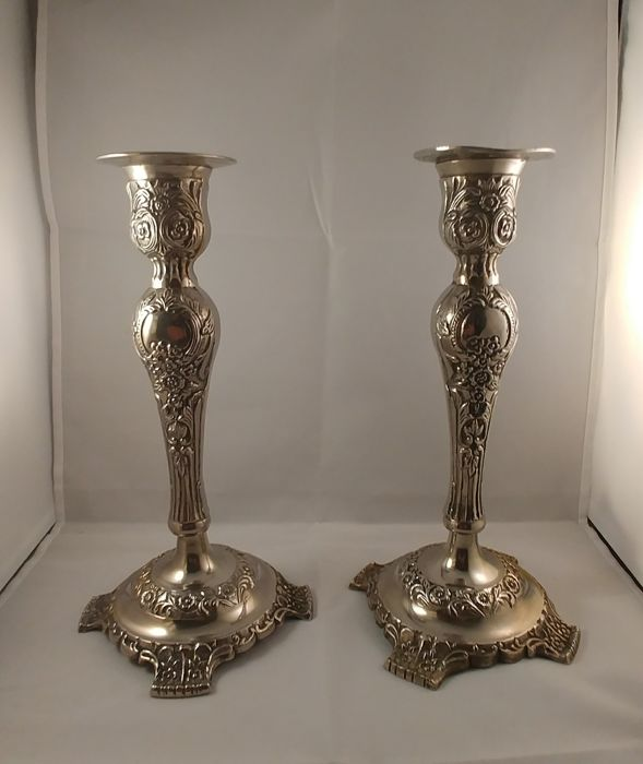 Candlestick - Silverplate