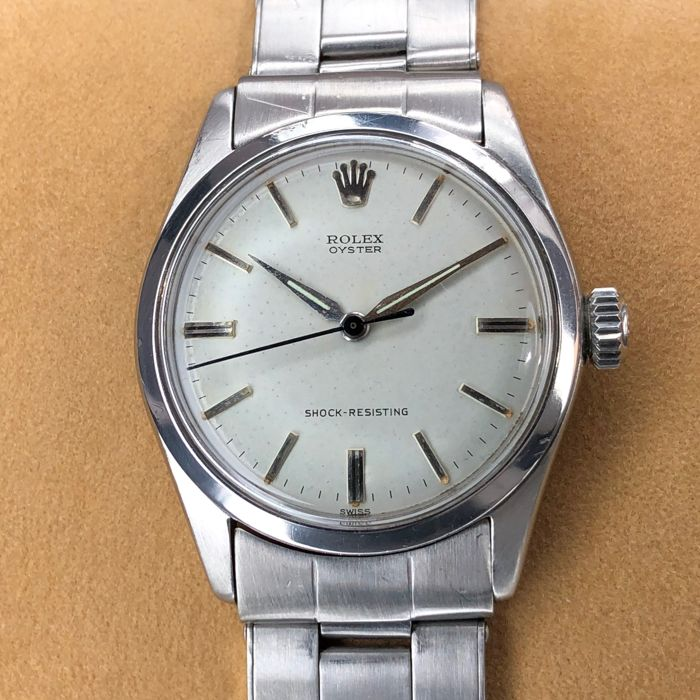 Rolex - Oyster Shock-Resisting - 6282 - Unisexe - 1960-1969