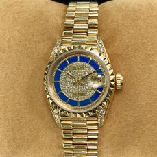 Rolex - Datejust Lady Champagne/Diamond Dial - 69188 - Femme - 1980-1989