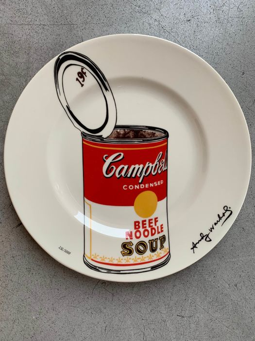 Andy Warhol  - Big Cambell's Soup