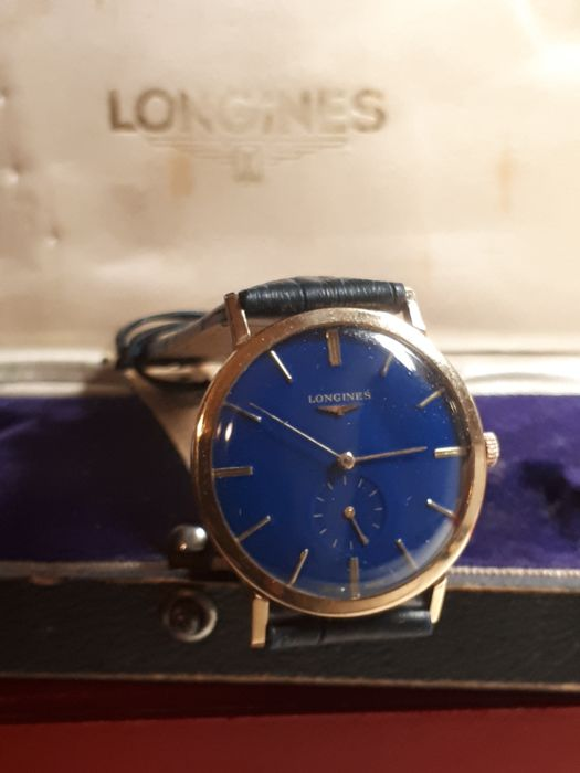Longines - Presence Solid Gold - Ref L4.743.6.12.0 - Unisex - 1960-1969