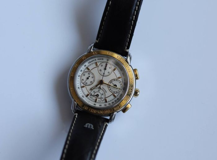 Maurice Lacroix - Masterpiece Chronograph Limited Edition 299/999 - 30585 - Uomo - 1990-1999