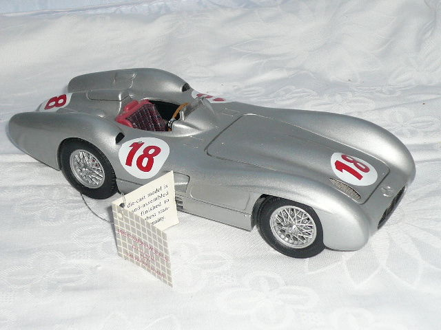 Franklin Mint - 1954 Mercedes-Benz W196 R - 1:24 - metaal