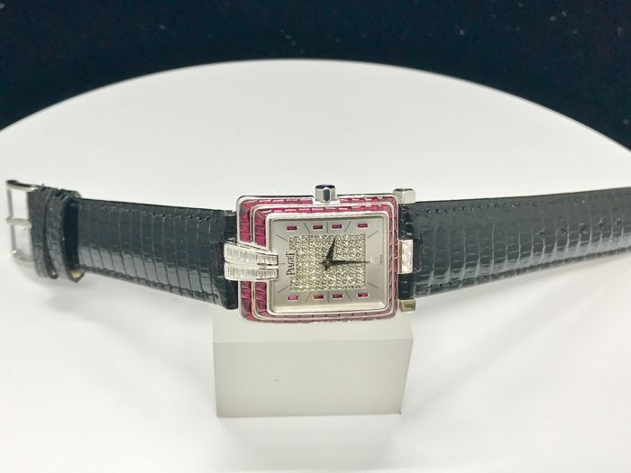 Piaget - 18K white gold with Ruby Bezel  - G0A21534 Jewellery Ladies Collection - Donna - 2011-presente