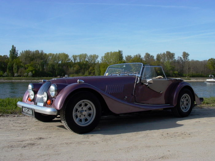 Morgan - Plus 8   +8    Vergaser Achter  - 1981