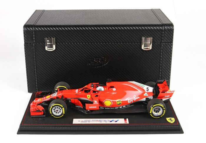 BBR - 1:18 - Ferrari SF71-H F1 - #5 Sebastian Vettel - Winner GP Australia 2018 Finish Version
