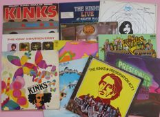 The Kinks - Lot of 12 classic early albums by The Kinks - Useita teoksia - LP-levyt - 1965/1975