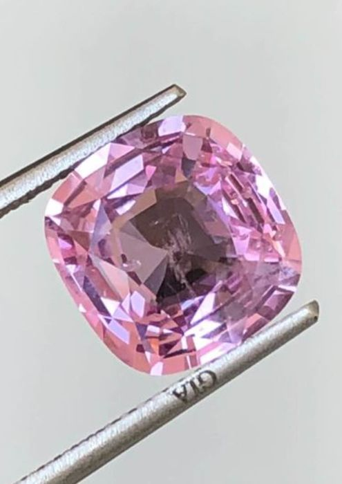 1 pcs Rosa Zafiro - 4.10 ct