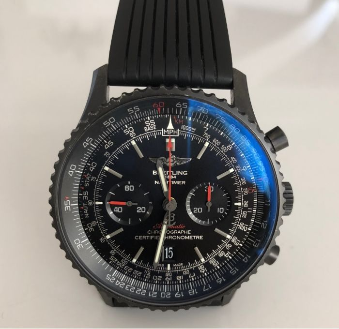 Breitling - Navitimer 01 Blacksteel - Ref. MB0128 - Men - 2016