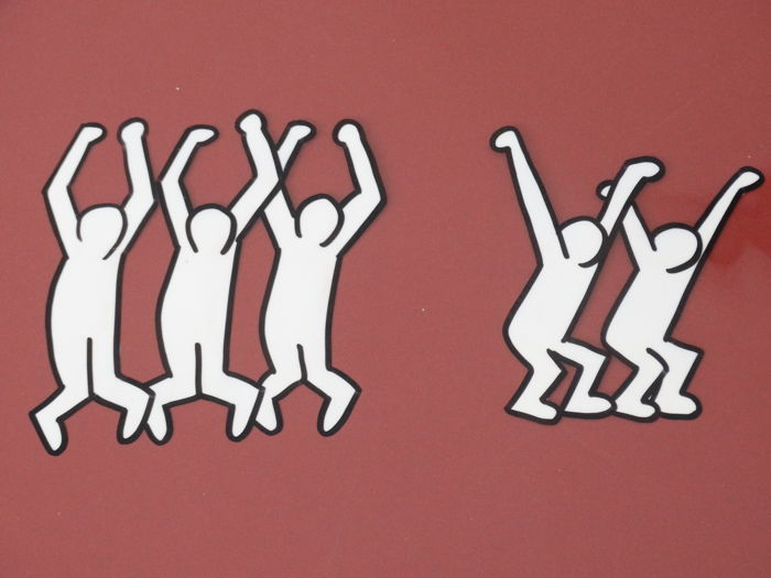 Keith Haring - Composition