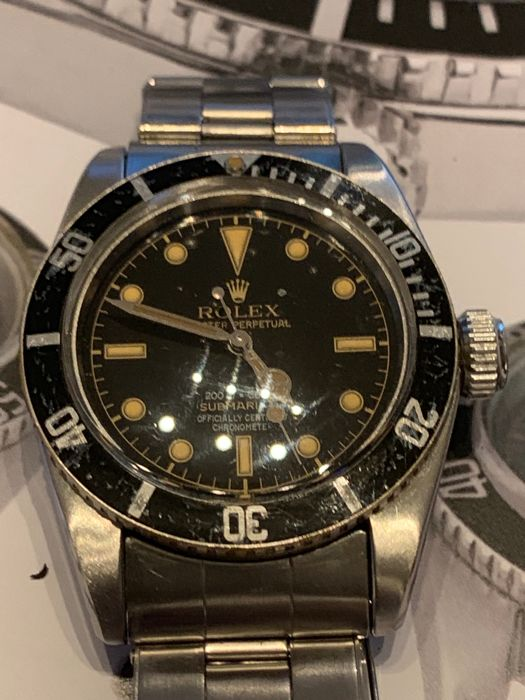 Rolex Submariner James Bond 6538 Unisex 1950 1959 Catawiki