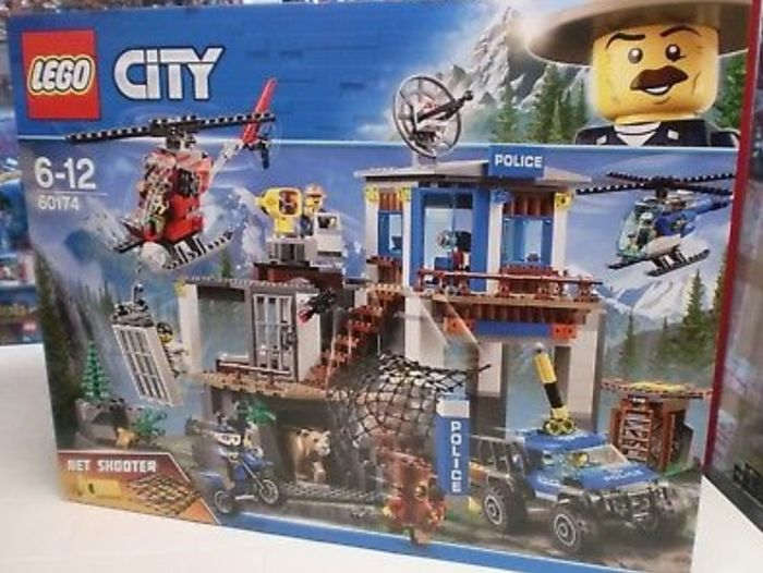 Lego City 60174 Police Headquarters Quartier Generale Della