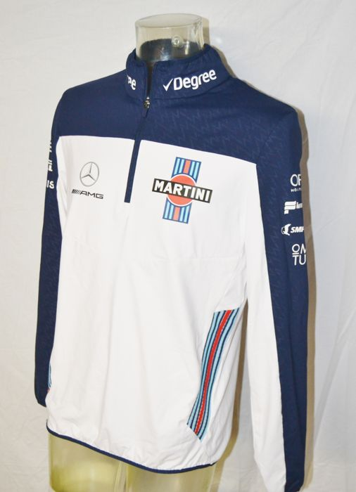 Williams Mercedes Team 1/4 Zip Jumper - Formule 1 - Vêtements d'équipe - 2017