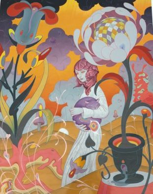 James Jean - Schrodinger's kitten rescue
